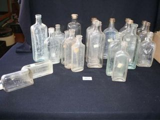 Various Glass Bottles  Dr s syrup bottles  etal