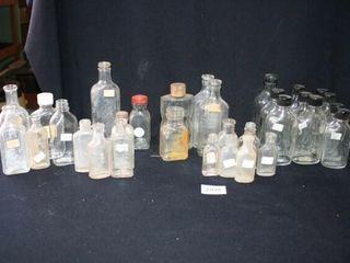 Various Glass Bottles  32 Total   Rawleigh s