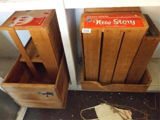 Wood Boxes  Crates  6