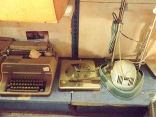 Royal Typewrite  Electrolux Cleaner