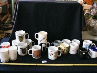 Coffee Mugs  America s 200th Anniversary