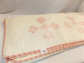 Quilt   Hand Quilted   76  x 61