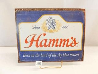 Hamm s Reproduction 2015 Sign  16  x 13