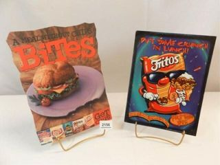 Frito  Chips Advertising Signs  Cardboard