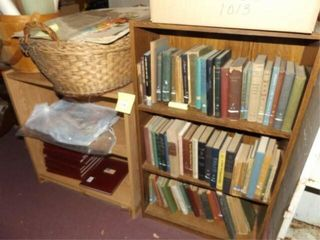 Bookshelves  2  no contents