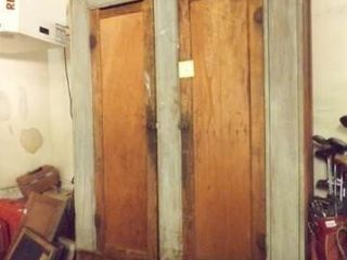 Rustic Wood Cabinet  with doors