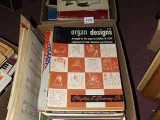 Organ Music   2 Boxes