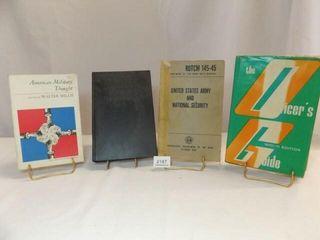 Military Theme Books  4