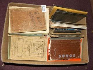 Church  Religious Songbooks   1 Box
