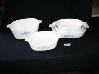 Corningware Square Casserole Dishes no lids