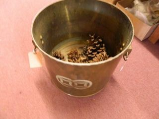 Brass Container w Handles