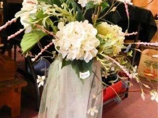 Floral Arrangement  Glass Vase