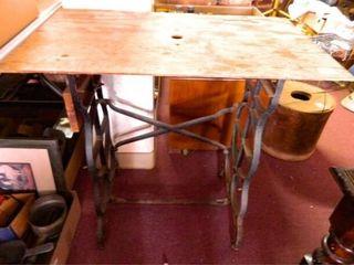 Sewing Machine Stand w Board Top