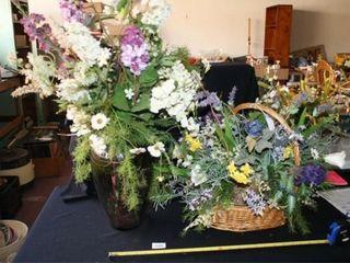 Floral Arrangements  large Purple VaseIJ