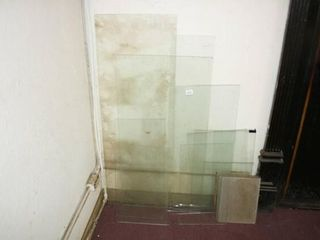 Glass Shelves  Various widths and lengths