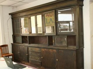 Wooden cabinet  from E K  Gaylord home