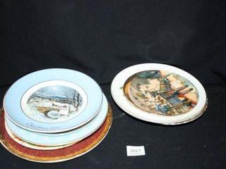 Decorative Plates 13 Total  50th Anniv  2