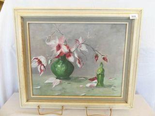 1989 lindholm Painted Canvas  Framed