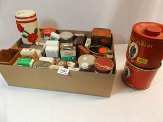 Advertising Tins  Containers   1 Box