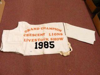 Grand Champion Sheep Blanket