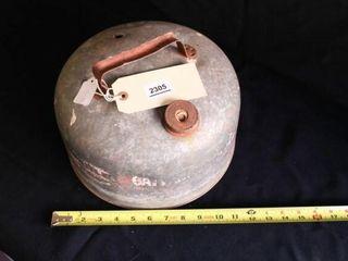 Vintage 2 gal Gas can