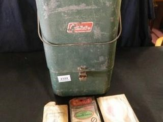 Coleman lantern w Storage Box