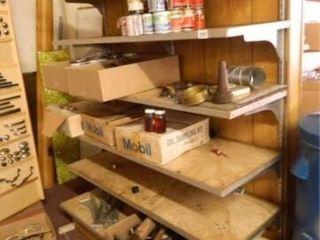 Metal Display Shelf No Contents