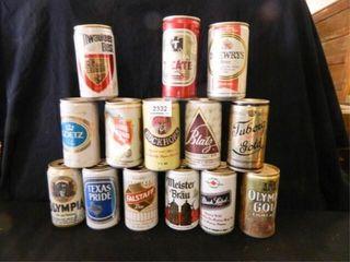 Beer Can Assortment  No Contents