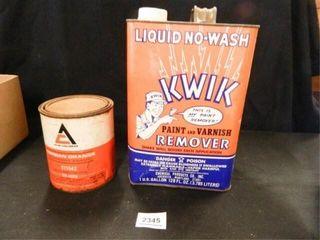 Kwik Paint   Varnish Remover  1 gal