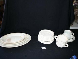 Diner type Plates Dinnerware  oval plates