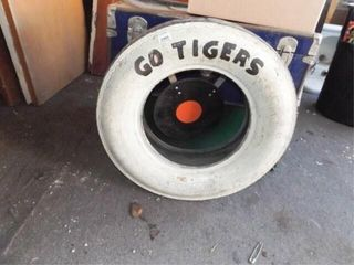 Tiger Toss Game Tire