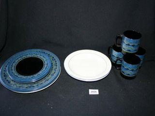 Black Amethyst Dinnerware 11 pcs   others