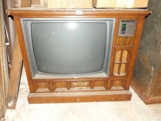Television in Console  condition unknown
