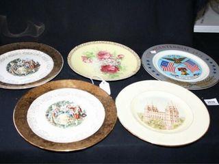 Decorative Plates 17 Total