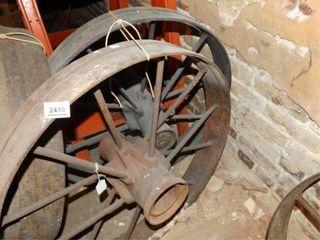 Metal Wheels   Pair   28