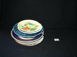 Decorative Plates 10 Total