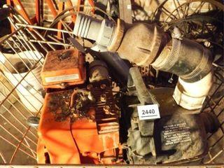 Homelite Briggs   Stratton Motor