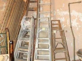 Aluminum ladders  4    Different Sizes