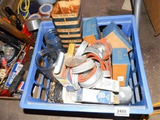 Canning Jars  lids  Items   1 Crate