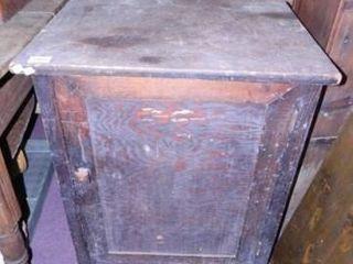 Wooden Cabinet w Storage Below