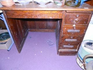 Wooden Desk  30  x 42  x 30  h