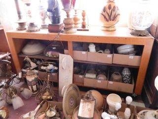 Wooden Cabinet  Storage Below