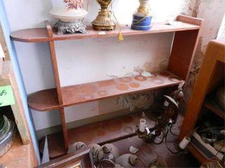 Wooden Shelf Unit  9  x 46  x 361 2