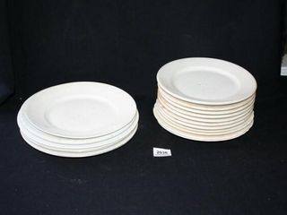 White Diner Style Plates  Syracuse  IroquoisIJ