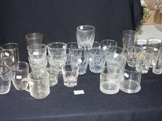 Drinking Glasses  Various Sizes and Shapes