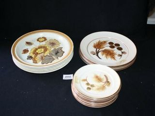 Denby Dinnerware Salad and Dinner Plates