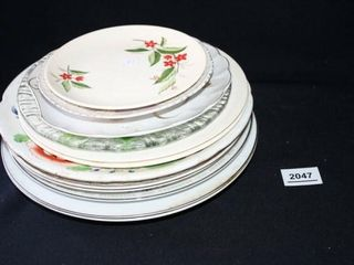 Decorative Plates Various Sizes and Designs