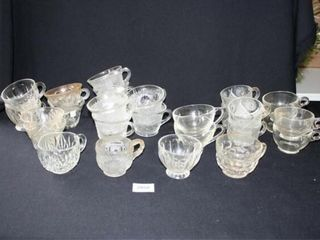 Clear Snack Set Desert Cups 27 total