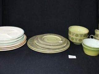 Granada Dinnerware  Plus other plates