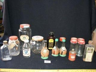 Household item bottles  Apple Butter  Cains